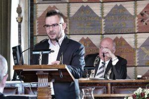 Wystąpienie podczas obrad Rady Miasta Krakowa
