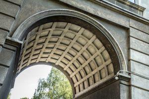 Brama w bloku na os. Stalowym. fot. Jerzy Woźniakiewicz